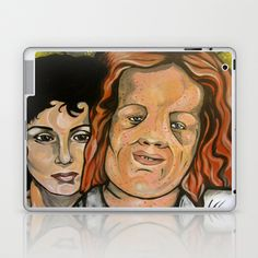 Mask  Laptop & iPad Skin by Portraits on the Periphery   - $25.00