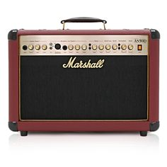 Marshall AS50D Acoustic Combo, Limited Edition Oxblood Red #Marshall