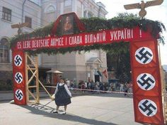 Ce été en #Ukraine un musée en l'honneur des héros de l'#Ukraine et du #nazisme