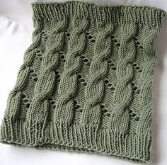 Cables and Eyelets Cowl
