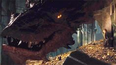 Smaug The Dragon —Holy COW!LOOKKKK!!!SMAUG......I can actually imagine Benedict playing him.Ben is a dargon.......LOOK AT HIM.Thats what he looks like.........