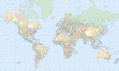 World map wallpaper buy online maps international best games world map atlas wall mural photo wallpaper photowall gumiabroncs Image collections