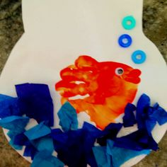 Theme: Under the Sea Handprint Fish