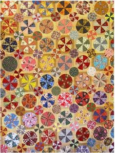 Exceptional pinwheel scrappy quilt