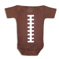 Aw, for the football fanatics with little ones!