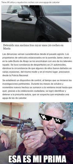La abuela más macarra        Gracias a http://www.cuantocabron.com/   Si quieres leer la noticia completa visita: http://www.estoy-aburrido.com/la-abuela-mas-macarra/