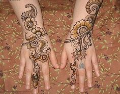 New Henna Designs For Eid ~ Mehndi Designs For Hands