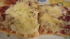Pizza in salsa di cipollle