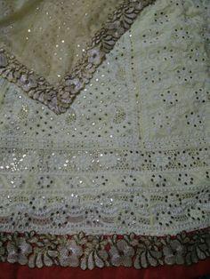Chikankari bridal #lehenga $350 . ready to ship in USA UK Canada . whatsapp +91 8553042444 India Fashion, Bridal Lehenga, Canada, Ship, Indian, Embroidery, Chicken, Usa, Amazing