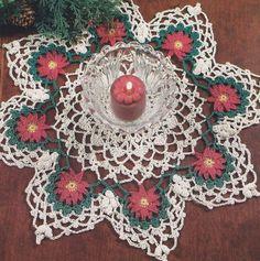 Christmas Doily Crochet Pattern. A pattern to purchase.