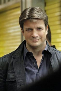 "Nathan Fillion on the Set of Castle Season 5, Episode 3: ""Secret's Safe With Me"""