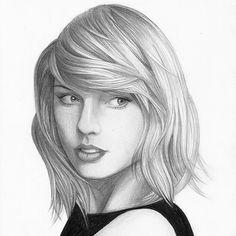 Joseph Knight Portraits — Taylor Swift Portrait