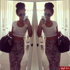skirt leopard print maxi skirt tank top