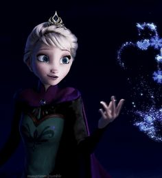 Love the shading of her face in this still, Queen Elsa of Arendelle