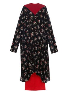 Long-sleeved floral-print dress | Vetements | MATCHESFASHION.COM US