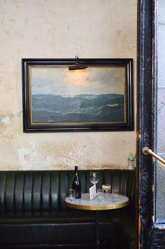 Hotel Delmano - wonderful old-timey bar in Brooklyn. Deco Restaurant, Restaurant Design, Restaurant Interiors, Commercial Design, Commercial Interiors, Brooklyn Hotels, Brooklyn Nyc, Nyc Hotels, Café Bistro