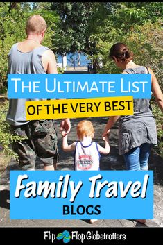 Ultimate family travel blogs list 2019 • The complete resource for traveling with kids, with 78 of the best family travel bloggers. Find the family travel blog and family travel blogger that matches your style and inspires you. Packing List For Travel, Travel Tips, Travel Destinations, Travel Ideas, Travel With Kids, Family Travel, All Family, Family Holiday, Family Life
