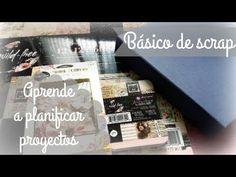 Básico de scrap: cómo planificar proyectos (encuadernación, páginas, evitar errores,..) - YouTube