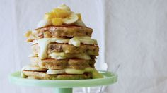 Hummingbird Pancakes: The transformation of this classic Southern cake into an over-the-top stack of Hummingbird Pancakes will delight even the pickiest eaters for breakfast or brunch. We recommend drizzling generously with cream cheese icing.