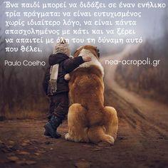 Greek Quotes, Teddy Bear, Paulo Coelho, Teddybear