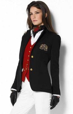 Loving this look with the ralph lauren blazer. Ralph Lauren Blazer, Ralph Lauren Style, Ralph Lauren Fashion, Preppy Girl, Preppy Style, Classic Outfits, Casual Outfits, Mode Outfits, Fashion Outfits