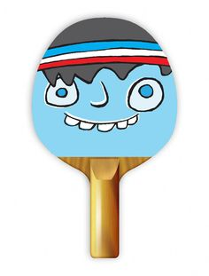 """Play ping pong with style with Uberpong's """"CHAWLIE"""" paddle. Get yours for $39.99 on uberpong.com #uberpongstyle"""