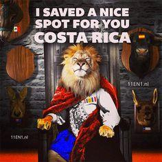 Nederland-Costa Rica I saved a nice spot for you Costa Rica