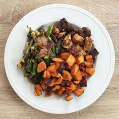 Delicious Carb Cycling Recipes! Sweet Potato, Chicken, Steak, Asparagus... @hiitburn  #hiitburn