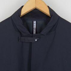 Indisce 3/4 Coat - Black | Arc'teryx Veilance | Peggs & son.