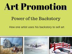 Art Promotion | Power of the Backstory http://artprintissues.com/2014/08/art-promotion-power-backstory/