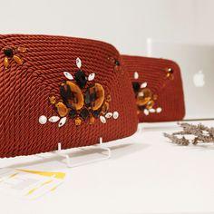 ● Bolso de cordón de seda | Modelo Antoinette | Diseño de OLVIDO MADRID  www.olvidomadrid.es