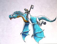 Ice Dragon- Ninjago by joshuad17.deviantart.com on @deviantART