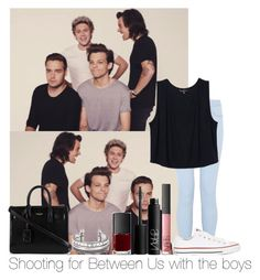 """""""Shooting For Between Us With The Boys"""" by hazzgirl03 ❤ liked on Polyvore"""