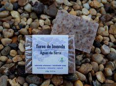 Sabonete artesanal Flores de Lavanda. Vegano, 55% de óleos orgânicos, cold process.