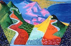 David Hockney | Malibu, 1993