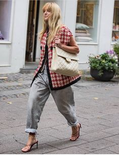 Trend Fashion, Fashion Images, Fashion Looks, Girl Fashion, Spring Outfits Women Casual, Chic Outfits, Fashion Outfits, Casual Chic, Classy Street Style