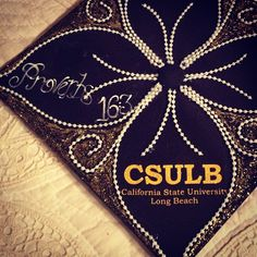 #CSULB (California State University Long Beach) - Graduation Cap