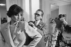 Inès de La Fressange et Karl Lagerfeld - Années 80