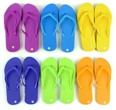 4afd45272 Wholesale Bulk Lot of 48 Womens Ladies Summer Solid Colored Flip Flops Size  5-10