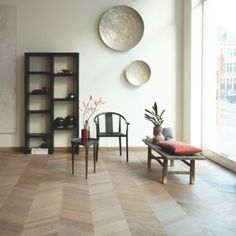 quick step intenso - Google Search Real Wood Floors, Hardwood Floors, Flooring, Deco Led, Amazing Bathrooms, Interior Design Living Room, Room Decor, Industrial Design, Organic Beauty