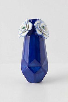 carved bouquet vase - anthropologie