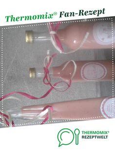 Erdbeer- Vanille-Likör von Steffienchen. Ein Thermomix ® Rezept aus der Kategorie Getränke auf www.rezeptwelt.de, der Thermomix ® Community.