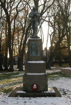 Remembrance ,war statue , Christchurch Park, Ipswich, Suffolk, England...photo by Tracey Souza . Ipswich England, Ipswich Suffolk, Suffolk England, Norfolk, Roots, Beautiful Places, British, War, Sculpture