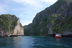 Epic view, Koh Phi Phi boat tour, Thailand