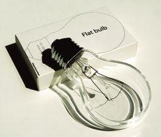 Flat bulb