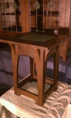Gus Stickley Tiletop Table