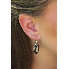 Ezüst fülbevaló borostyán kővel /71381/ 3 Earrings, Jewelry, Ear Rings, Stud Earrings, Jewlery, Jewerly, Ear Piercings, Schmuck, Jewels