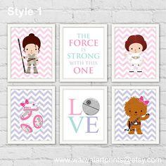 Hey, I found this really awesome Etsy listing at https://www.etsy.com/listing/252143913/princess-leia-rey-star-wars-girl-nursery