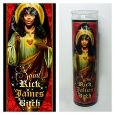 This is the perfect addition to any Rick James fans life . x traditional prayer candle Fragrance Free The wax color you choose may vary from photo . Rick James, Cool Words, Prayers, Fragrance, Princess Zelda, Candles, Alchemy, Color, Wax