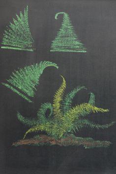Chalkboard Drawings in the Waldorf Classroom